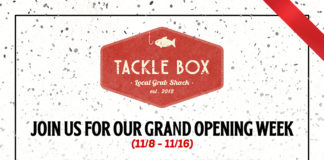 Tackle Box Grand Open Week