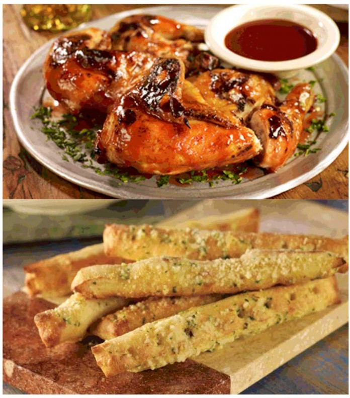 Stonefire Grill Chicken N Breadsticks