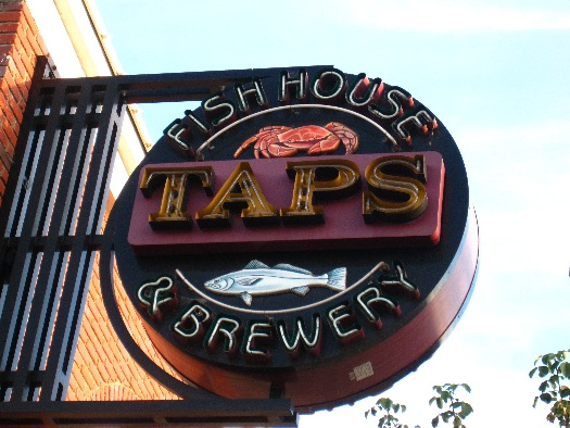 TAPS Fish House & Brewery - Brea Logo