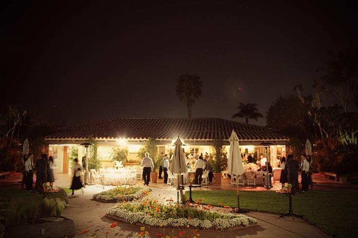 Cafe Jardin Nighttime Event