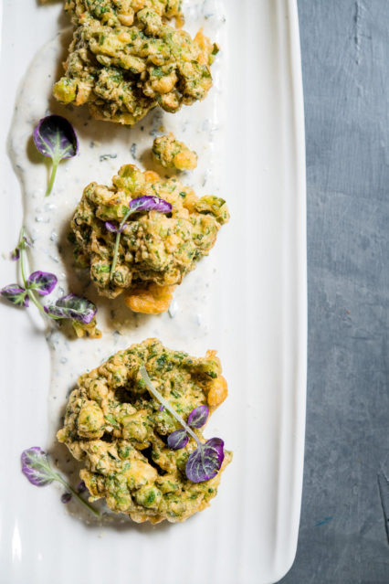 Andrei's Herb Onion Fritter