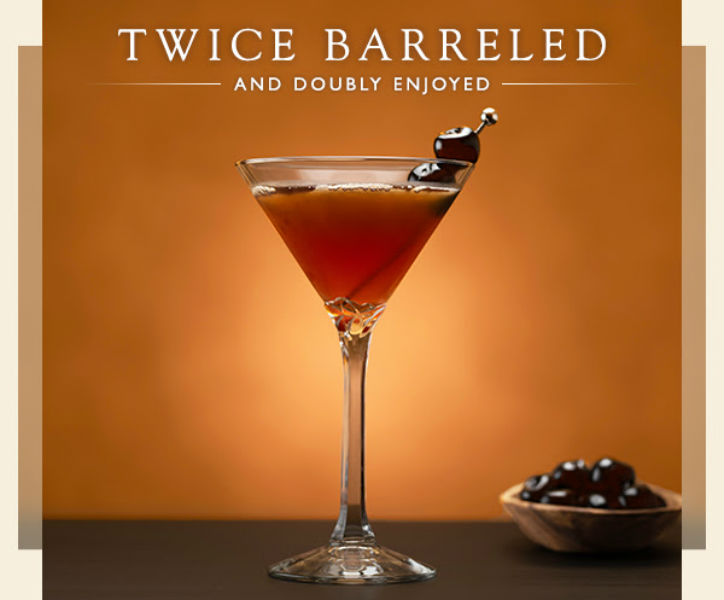 Capital Grille Double Oaked And Rye Manhattan