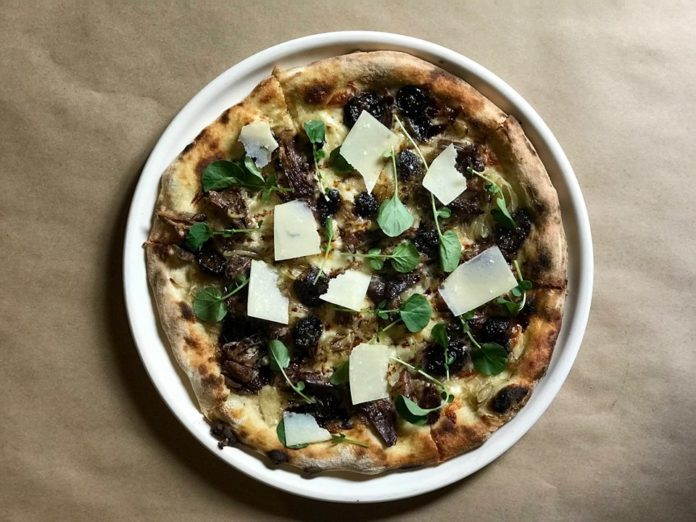 Cucina Enoteca Duck And Roasted Grape Pizza