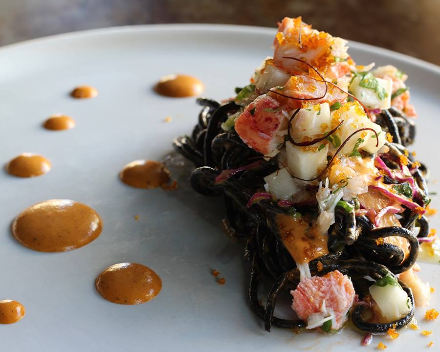 Cucina Enoteca Lobster And Squid Ink Pasta