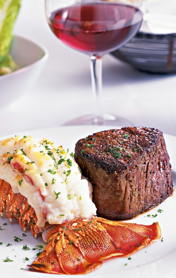 Fleming's Prime Steakhouse Surf n Turf