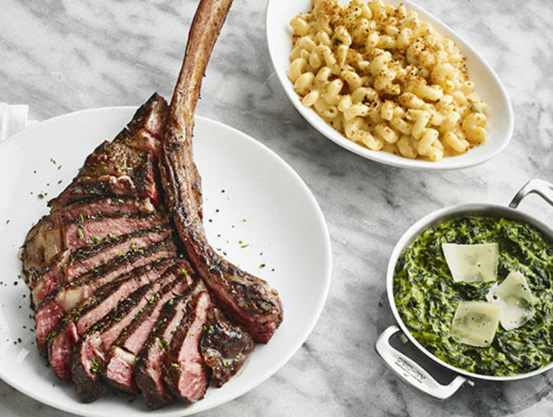 Fleming's Tomahawk three Course Dinner