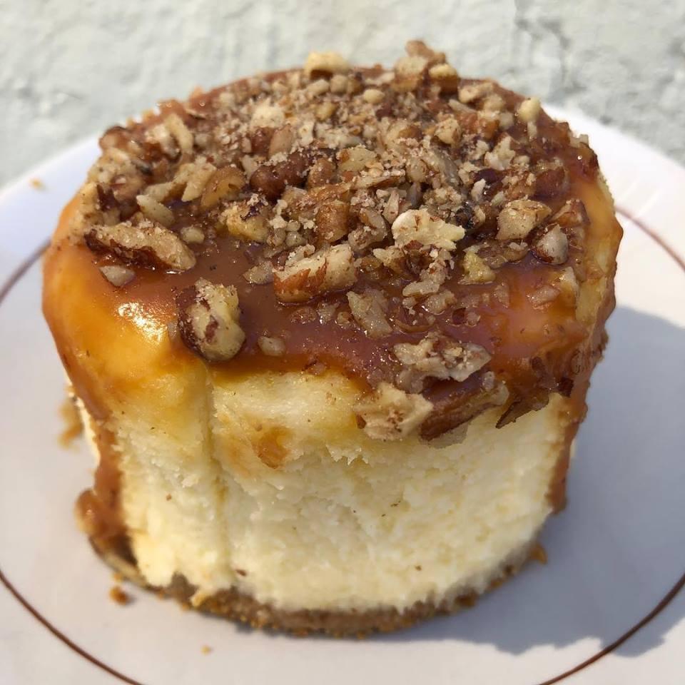 Magnolia Bakery Caramel Pecan Cheesecake