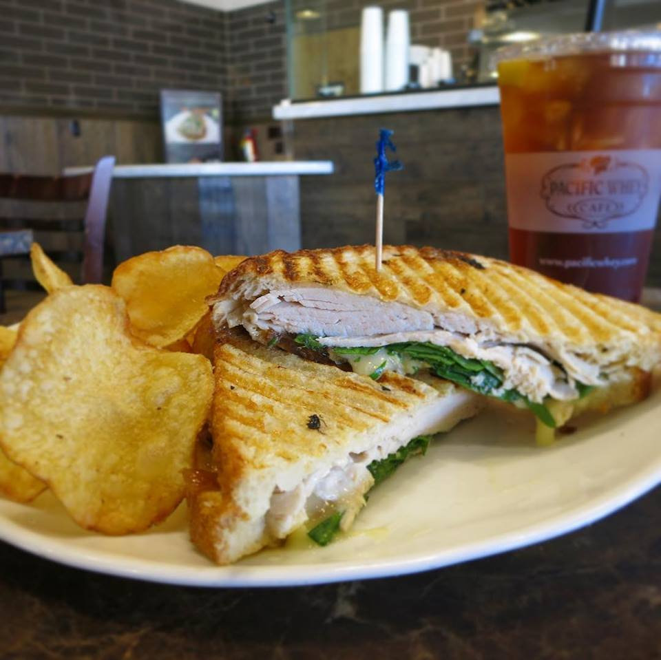 Pacific Whey Turkey And Brie Panini