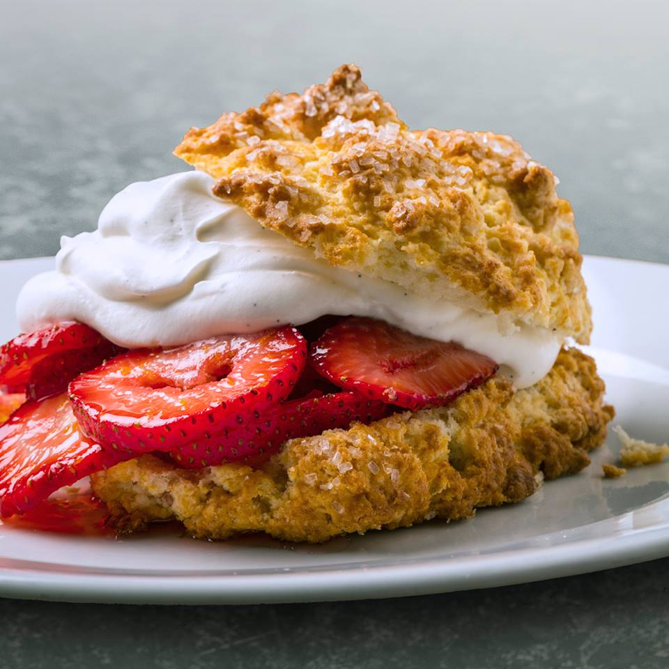Paul Martin's Strawberry Shortcake