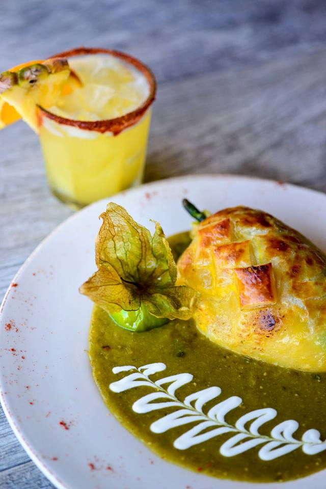 Taco Rosa Chille Relleno And Cocktail Brunch
