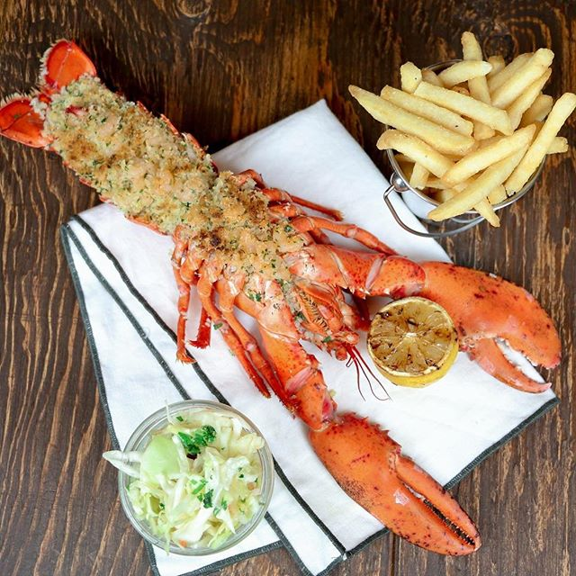 Bluewater Grill Stuffed Lobster