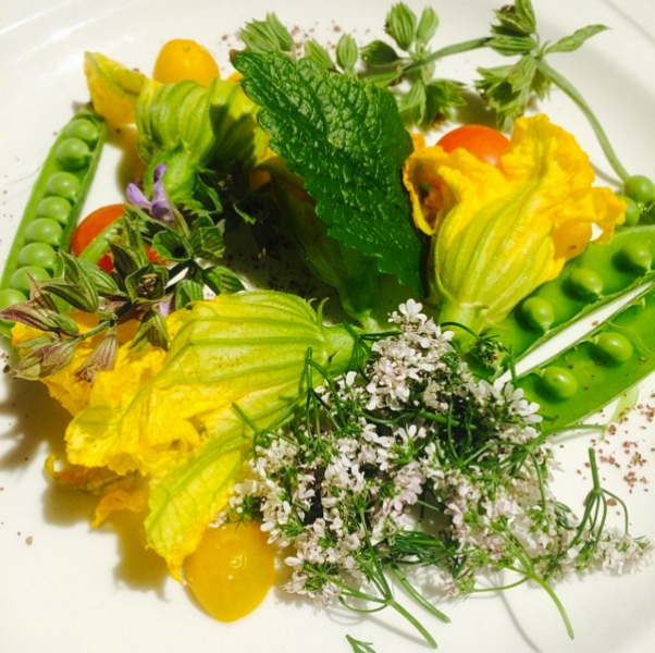 Golden Truffle Spring Salad