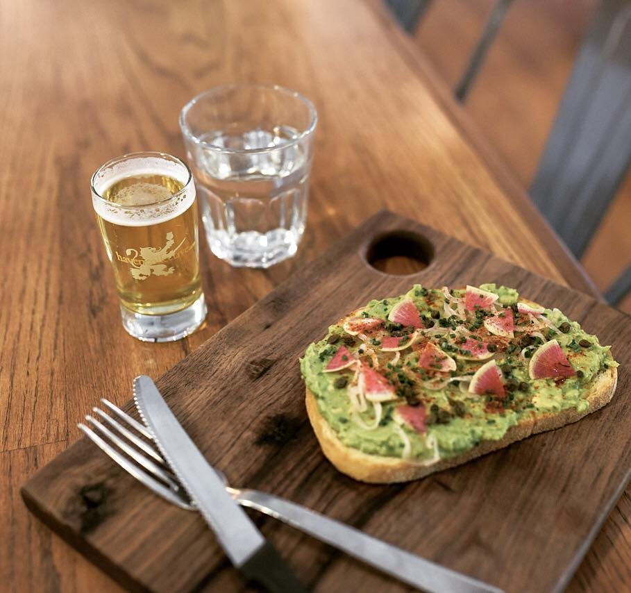 Provisions Market Avocado Toast And Beer