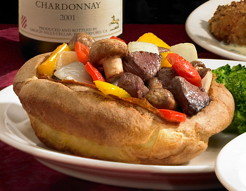 Tam O'Shanter Toad in the Hole