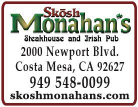 Kids Eat Free & Top Sirloin Dinner Special @ Skosh Monahan's - Costa Mesa | Costa Mesa | California | United States