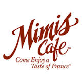 Mimi is Giving Back – Mimi's Cafe – Various Locations
