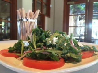 Orange County Restaurant Prego - light and delicious Buratta Salad