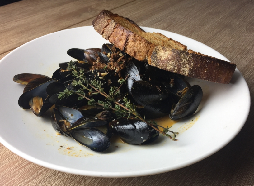 Twenty Eight - Mussels & Chorizo
