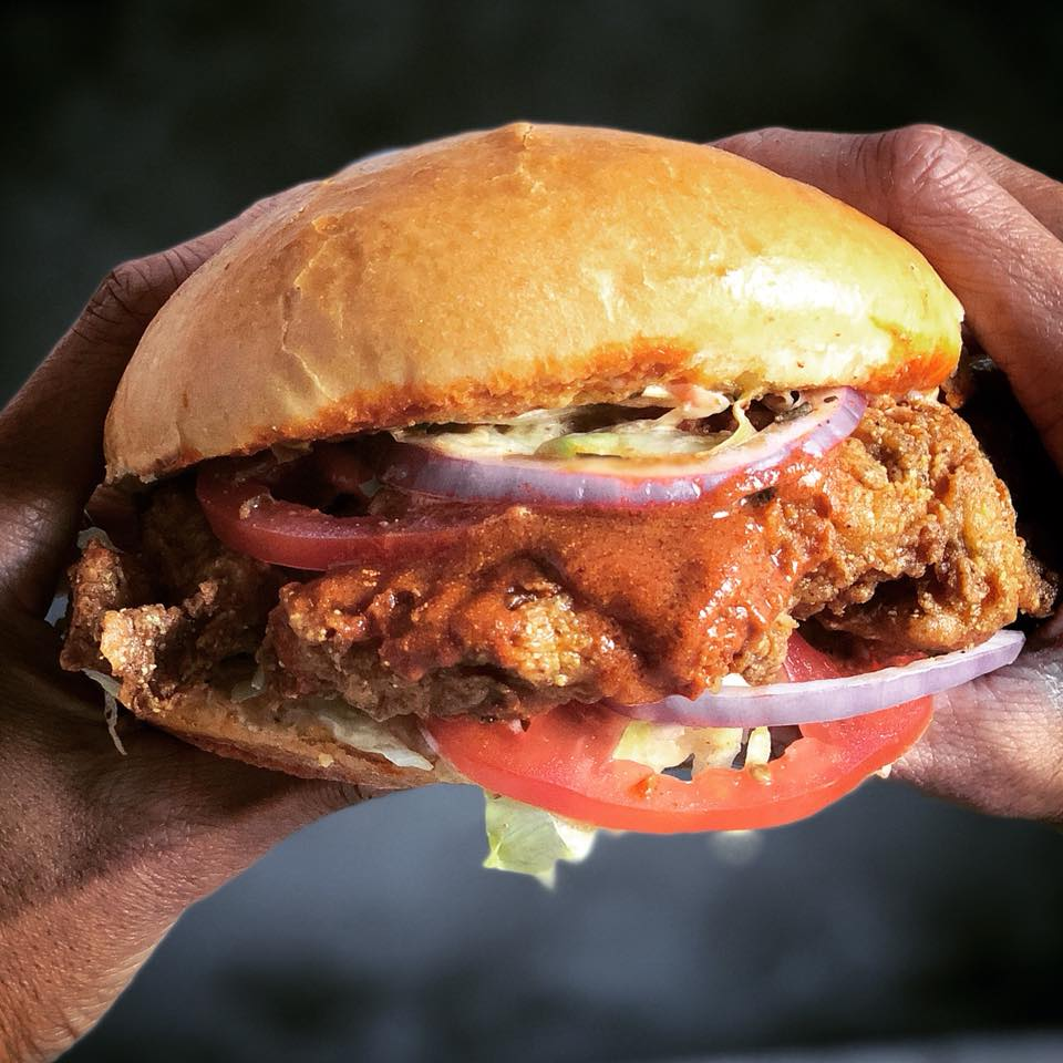 Georgia's Restaurant Spicy Chicken Sandwich