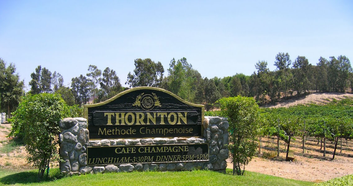 Cafe Champagne at Thornton Winery – Temecula Valley