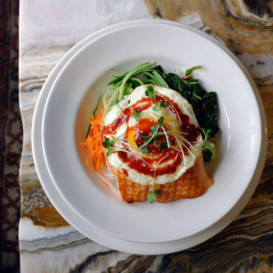 Baltaire Organic Salmon Rice Bowl
