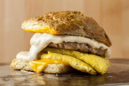 Blackmarket Bakery Egg Sandwich