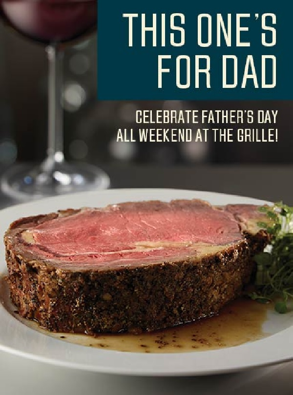Del Friscos Irvine Fathers Day 6 14 16