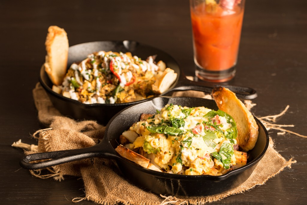 Brunch Skillets At Rustic Root