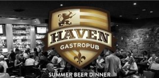 Haven Gastropub Beachwood Brew