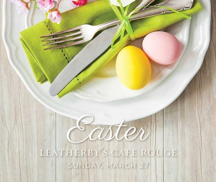 Leatherby's Cafe Rouge Easter