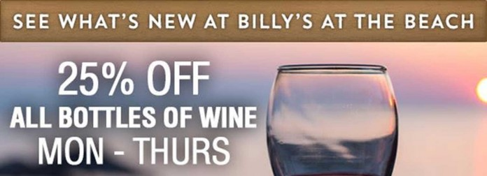 Wine Down At Billy's