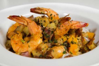 Bombo Curried Shrimp W