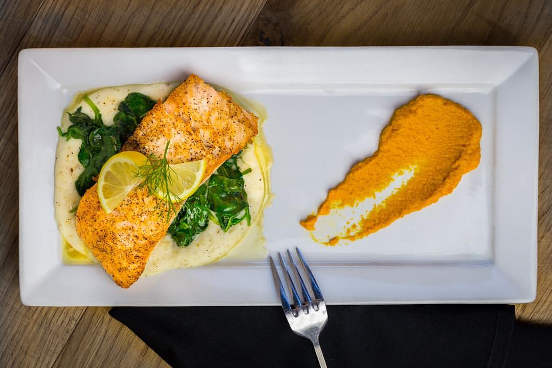 Central Laguna Beach Roasted Salmon