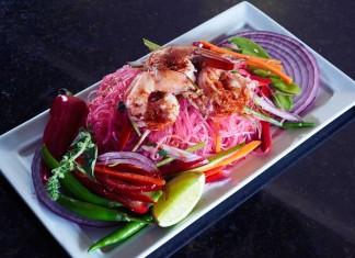 Glass Noodle Spicy Shrimp Salad