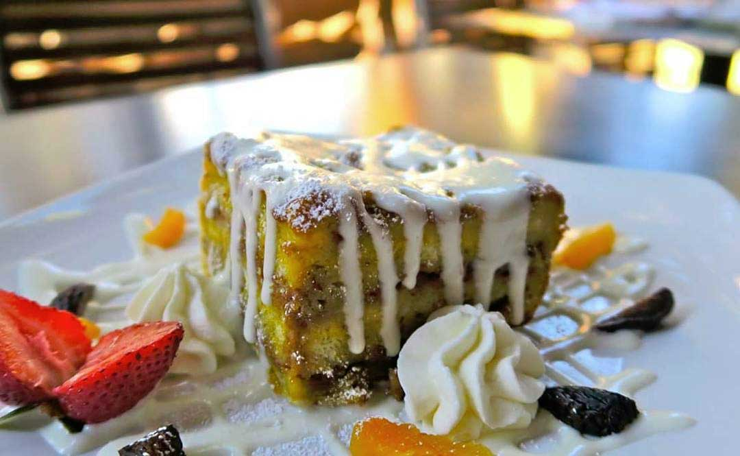 OId Vine Cafe Pumpkin Pecan French Toast
