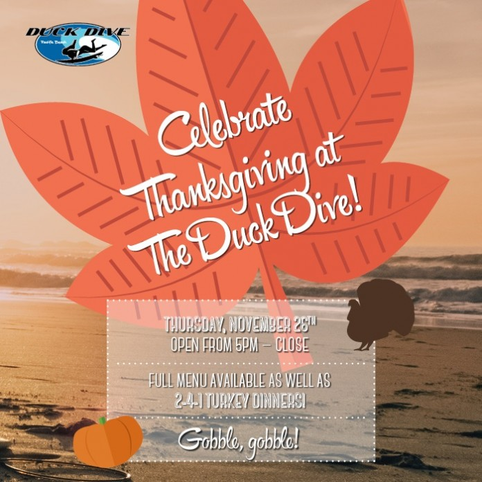 The Duck Dive Thanksgiving