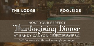 The Ranch At Bandy Canyon Thanksgiving Graphic