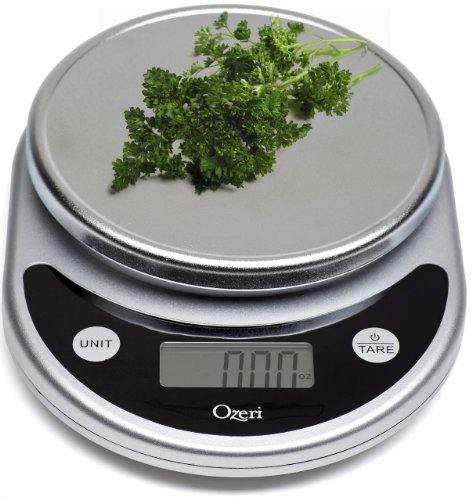 Ozeri Pronto Digital Multifunction Kitchen And Food Scale Elegant Black