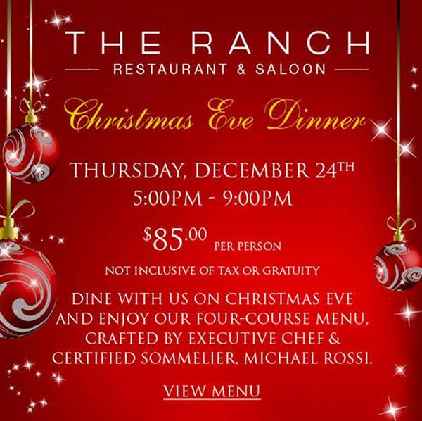 Ranch Christmas Dinner