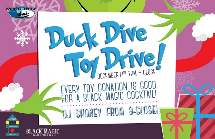 The Duck Dive Toy Drive