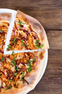 California Pizza Kitchen BBQ Chicken Pizza