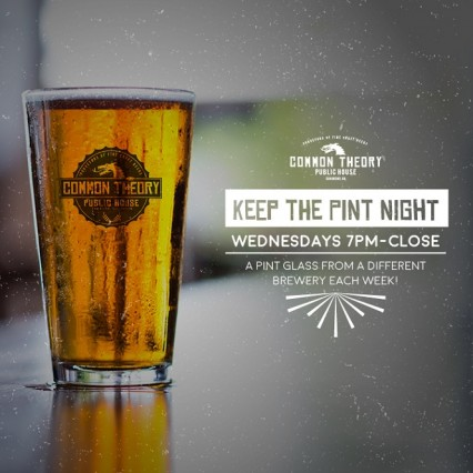 Keep The Pint Night @ Common Theory Public House - San Diego | San Diego | California | United States