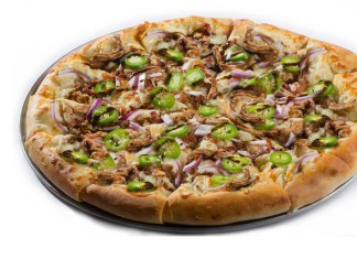 Oggi's Jerk Chicken Pizza