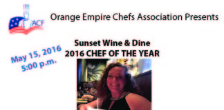 ACF 2016 Chef Of The Year