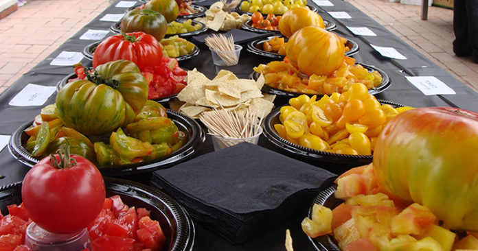 The 16th Annual Tomato And Pepper Tasting