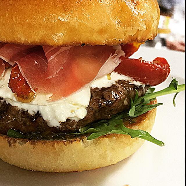 The American Dream - Prosciutto & Arugula Burger