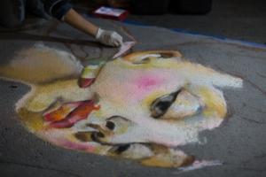 Oc Night Market Chalk Competition