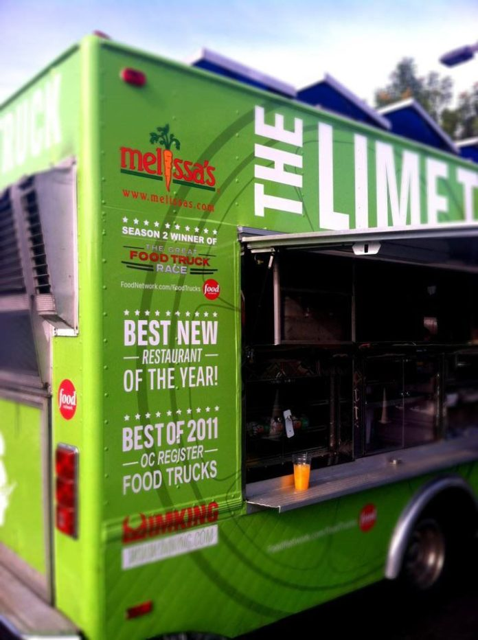 The Lime Truck