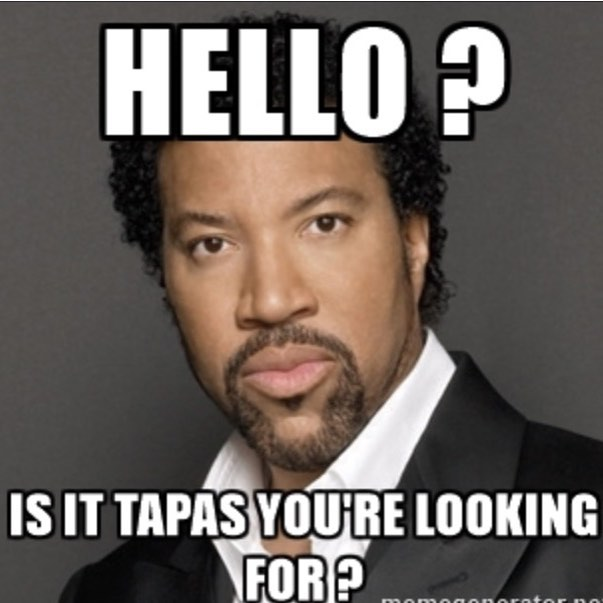 Chapter One Tapas Tuesdays