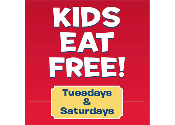 Kids Eat Free Tuesdays